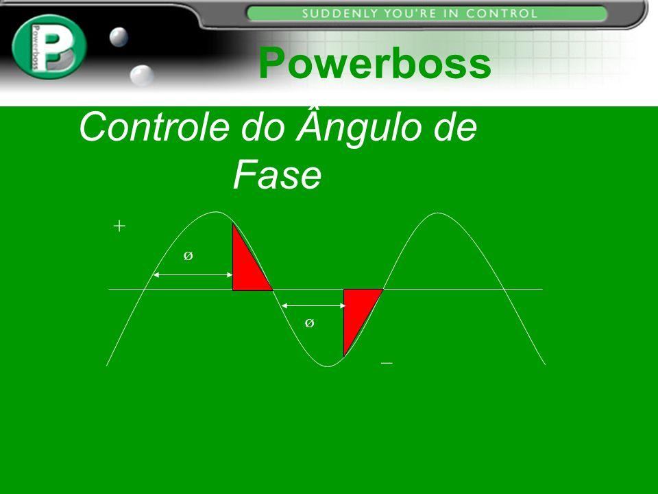 Controle do Ângulo de Fase Ø Ø + _ Powerboss