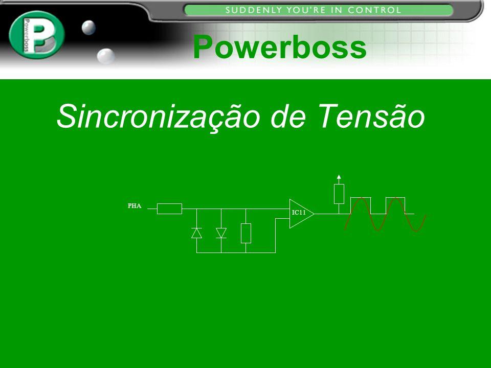 Sincronização de Tensão PHA IC11 Powerboss