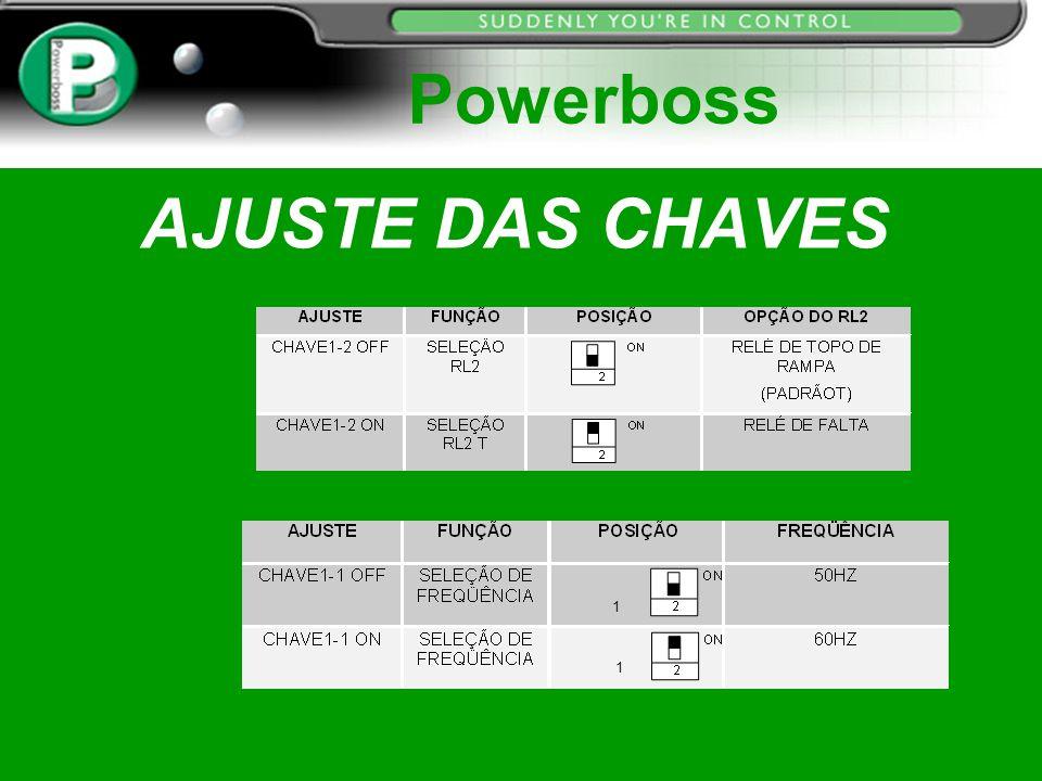 AJUSTE DAS CHAVES Powerboss 1 1