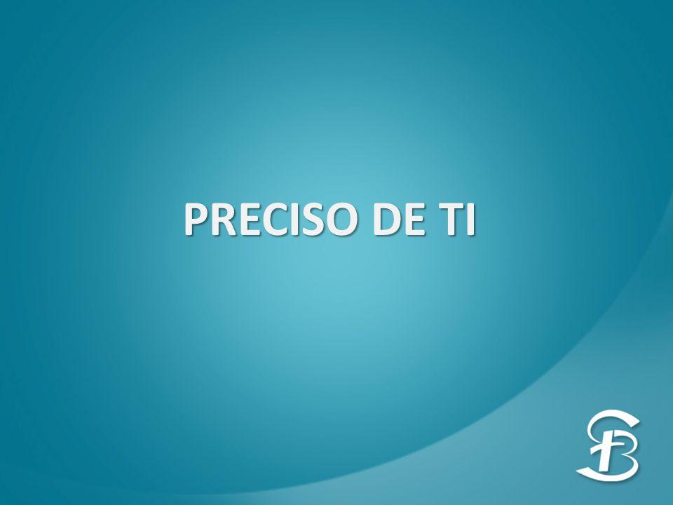 PRECISO DE TI