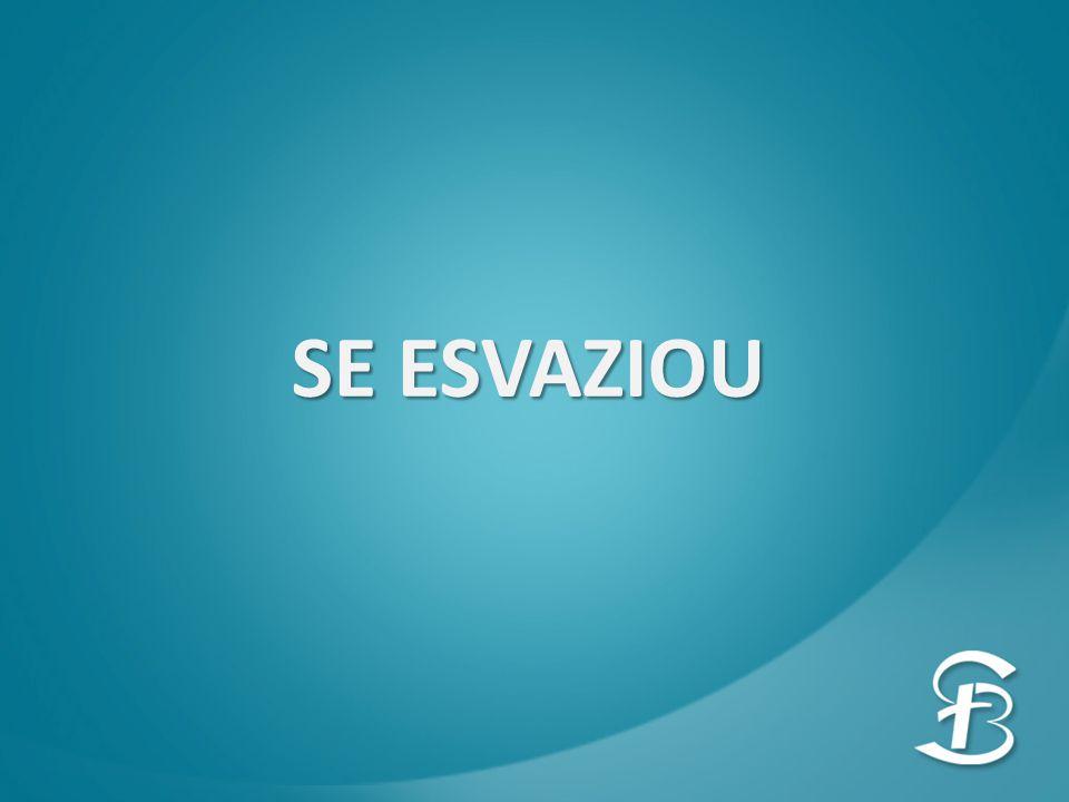 SE ESVAZIOU