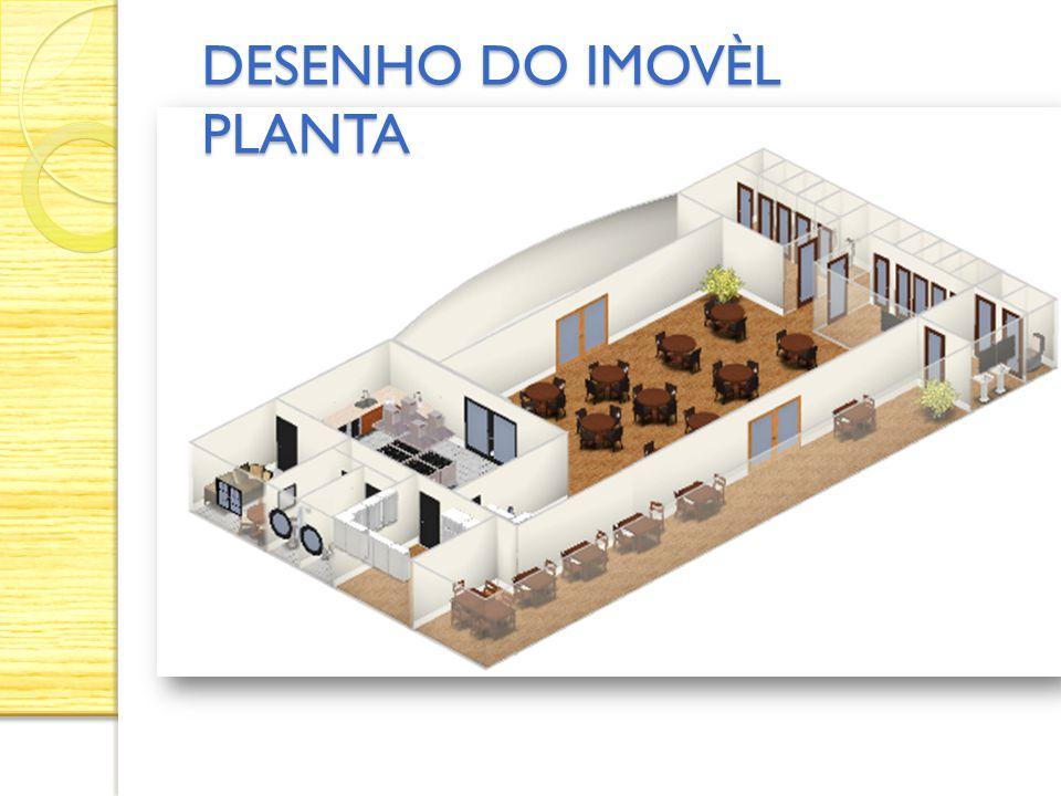 DESENHO DO IMOVÈL PLANTA