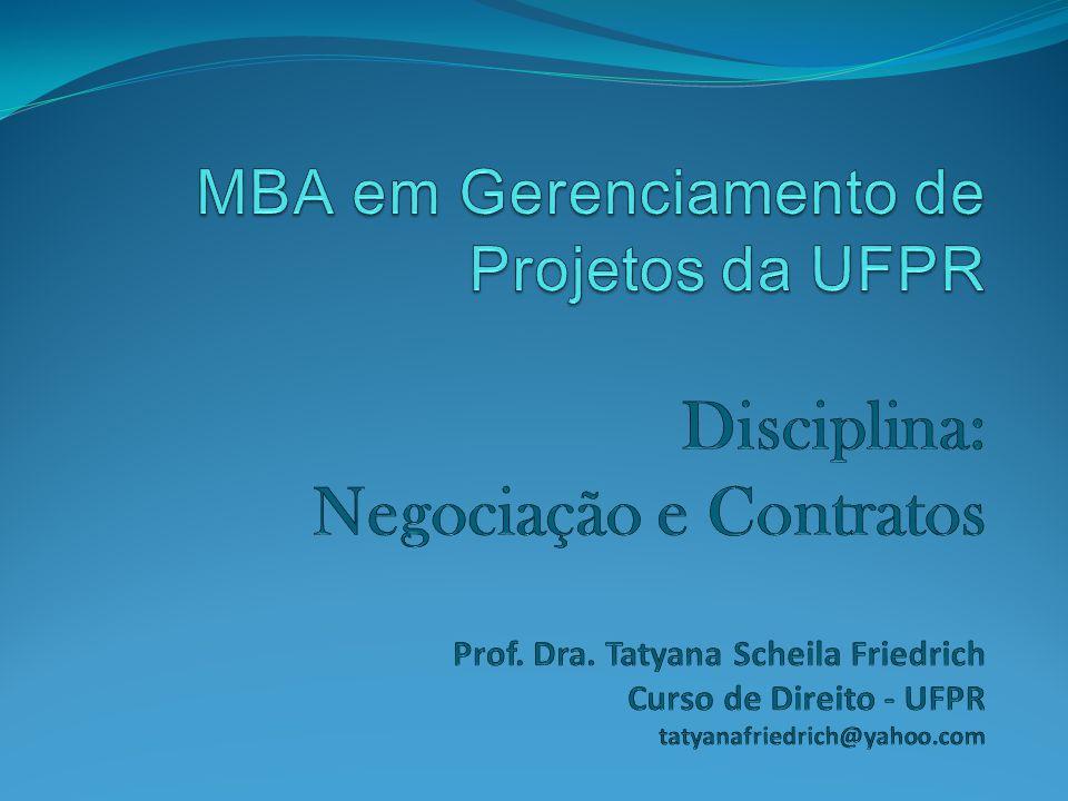 12.5 Administração de contrato O comprador e o fornecedor administram o contrato com objetivos semelhantes.