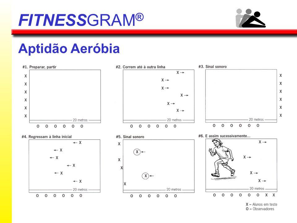 Aptidão Aeróbia FITNESSGRAM ®