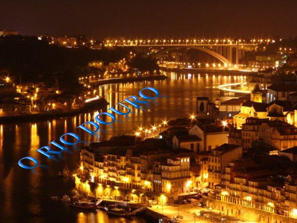 O rio Douro é um rio que nasce em Espanha e desagua no Porto, em Portugal.