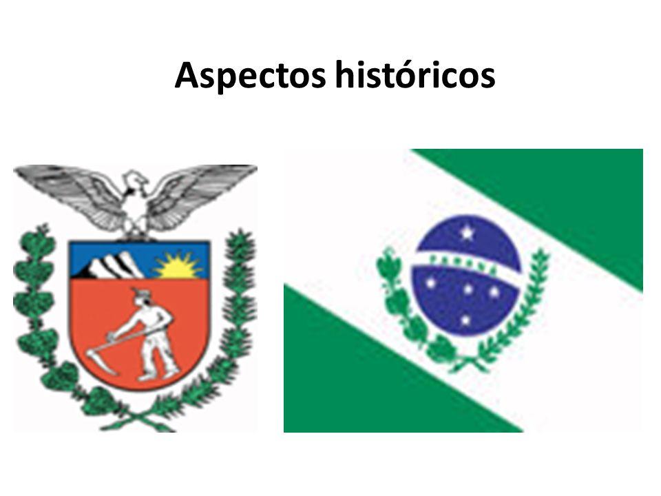 CONQUISTA E POVOAMENTO Primeiro núcleo de povoamento da região: Vila de Paranaguá em 1649; Até fins do século XVI: apenas populações indígenas; A preocupação principal era explorar ouro no litoral.