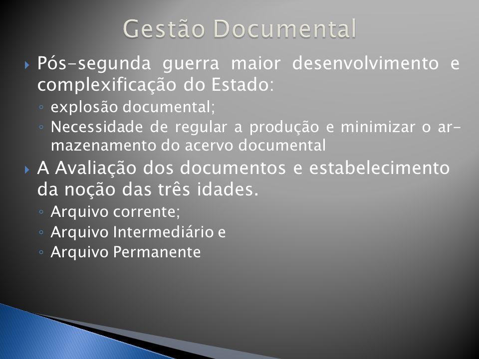 Um arquivo permanente não se constrói por acaso.