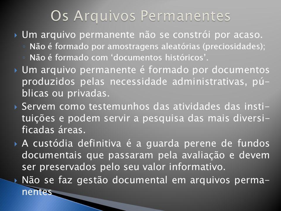 Garantir aos usuários núcleos documentais o mais completo possível, lógicos e coerentes.