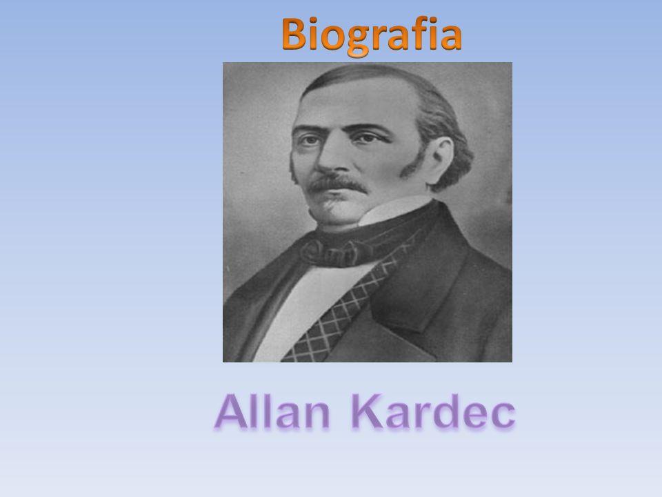 Hippolyte-Léon Denizard Rivail Allan Kardec nasceu no dia 03 de outubro de 1804, às 19 horas, na Cidade de Lyon, na França.
