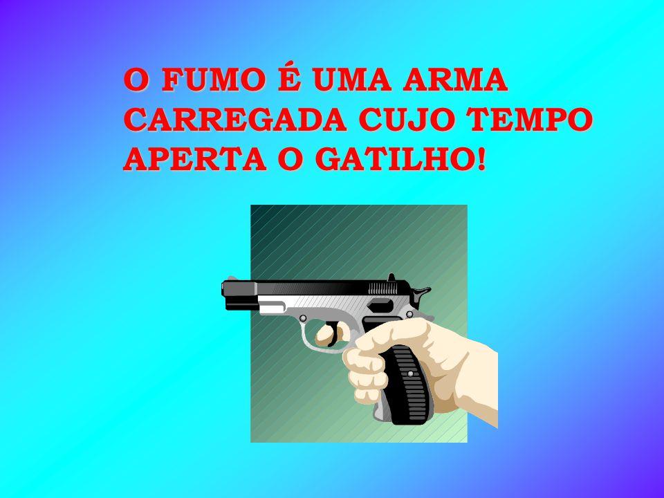- UMA PARTE QUEIMA - OUTRA CONDENSA-SE NO TOCO DO CIGARRO.