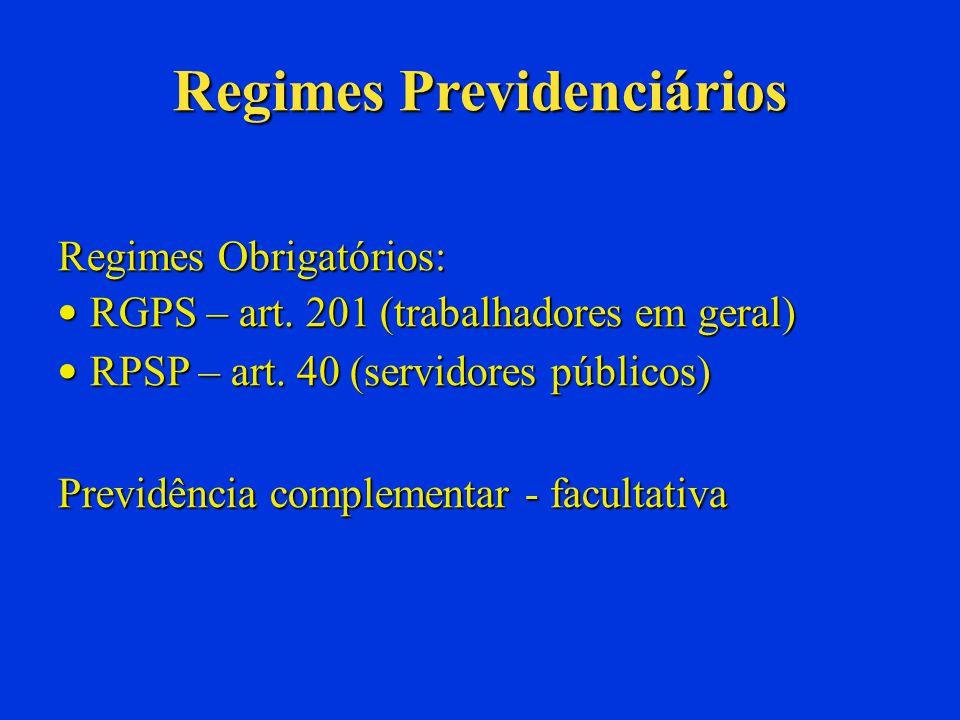 Lei 9.717/98 Normas Gerais para os Regime dos Servidores