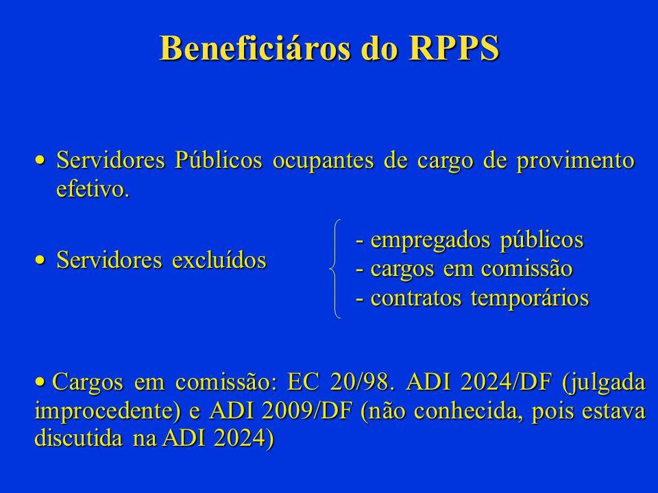 Crimes relacionados à gestão dos RPPS Ausência de repasse das contribuições descontadas dos segurados: Crime de apropriação indébita previdenciária, de responsabilidade do Chefe do Executivo.