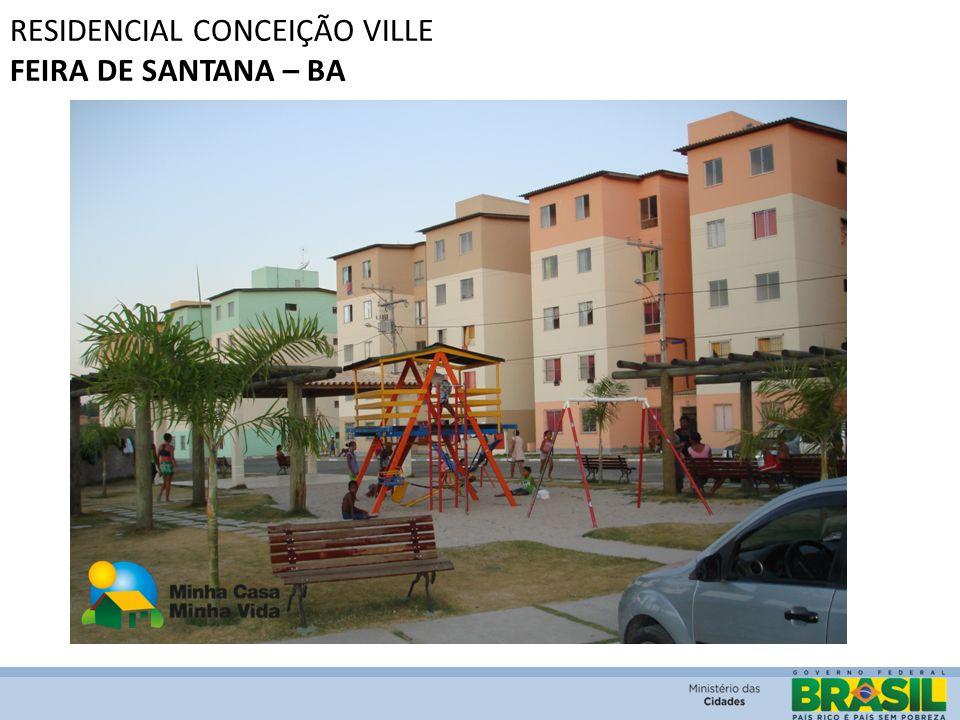 RESIDENCIAL CONCEIÇÃO VILLE FEIRA DE SANTANA – BA