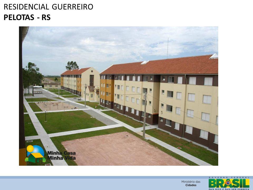 RESIDENCIAL GUERREIRO PELOTAS - RS
