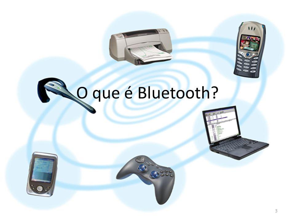 O que é Bluetooth Bluetooth é um padrão global de comunicação sem fio e de baixo consumo de energia que permite a transmissão de dados entre dispositivos compatíveis com a tecnologia.