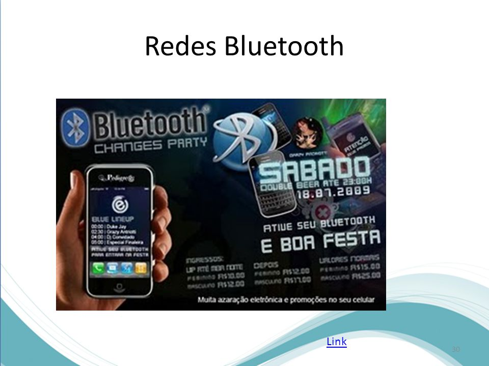 Redes Bluetooth 30 Link