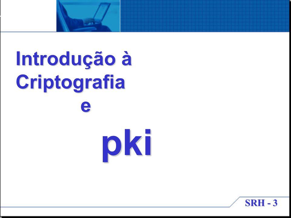 SRH - 3 Introdução à Criptografia e pki