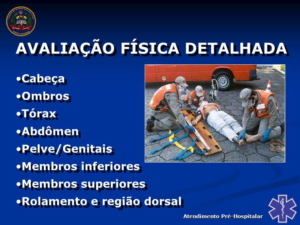 Atendimento Pré-Hospitalar MANIPULAÇÃO DO PACIENTE