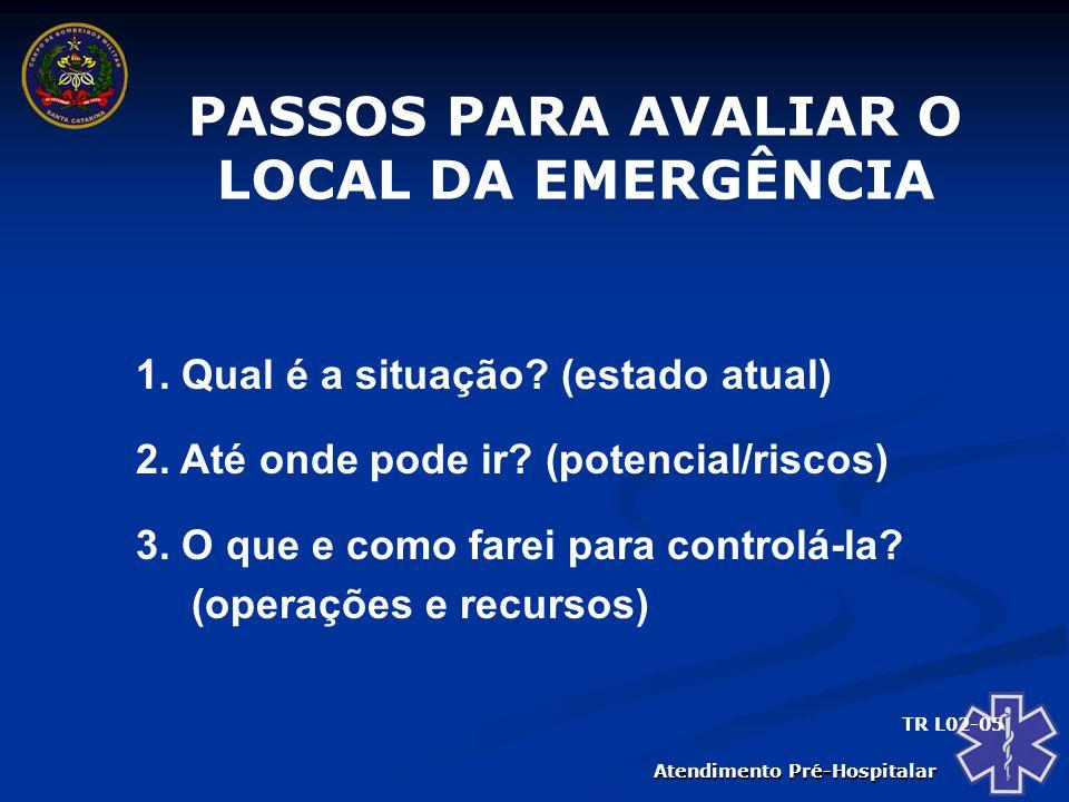 Atendimento Pré-Hospitalar PRINCIPAIS INFORMES DO SOCORRISTA 1.