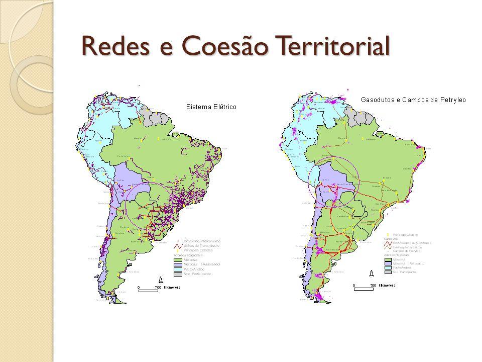 Redes e Coesão Territorial