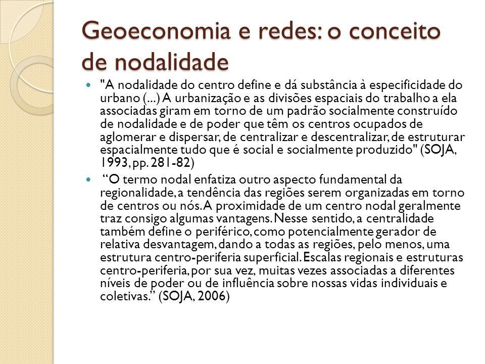 Geoeconomia e redes: o conceito de nodalidade