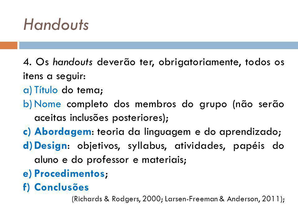 Handouts 4.
