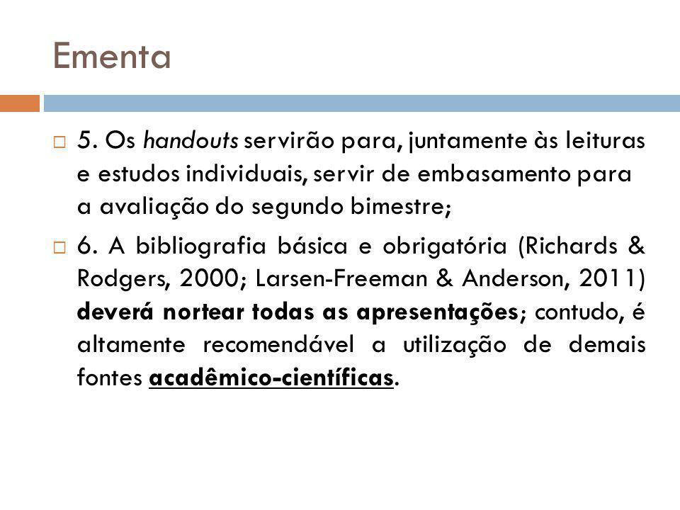 Ementa 5.