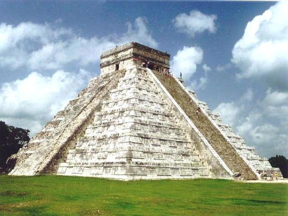 A Pirâmide Kukulcán - El Castillo