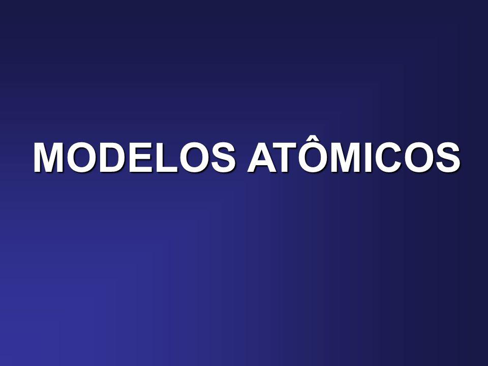 MODELOS ATÔMICOS MODELO ATÔMICO DE RUTHERFORD PROPOSTA DE RUTHERFORD PARA EXPLICAR AS OBSERVAÇÕES DO LABORATÓRIO Para que a partícula alfa pudesse inverter sua Trajetória, deveria encontrar uma carga positiva Bastante concentrada na região nuclear, com Massa bastante pronunciada.