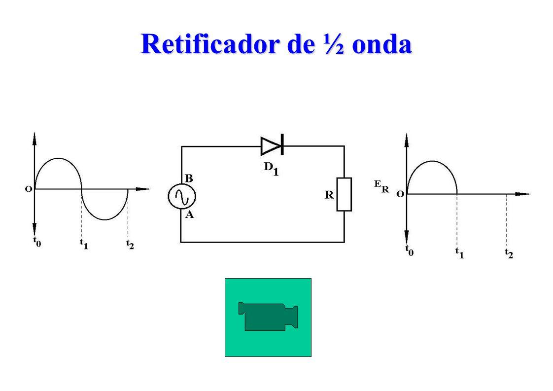 Retificador de ½ onda