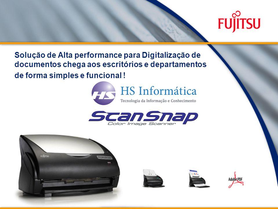 Solução de Alta performance para Digitalização de documentos chega aos escritórios e departamentos de forma simples e funcional !