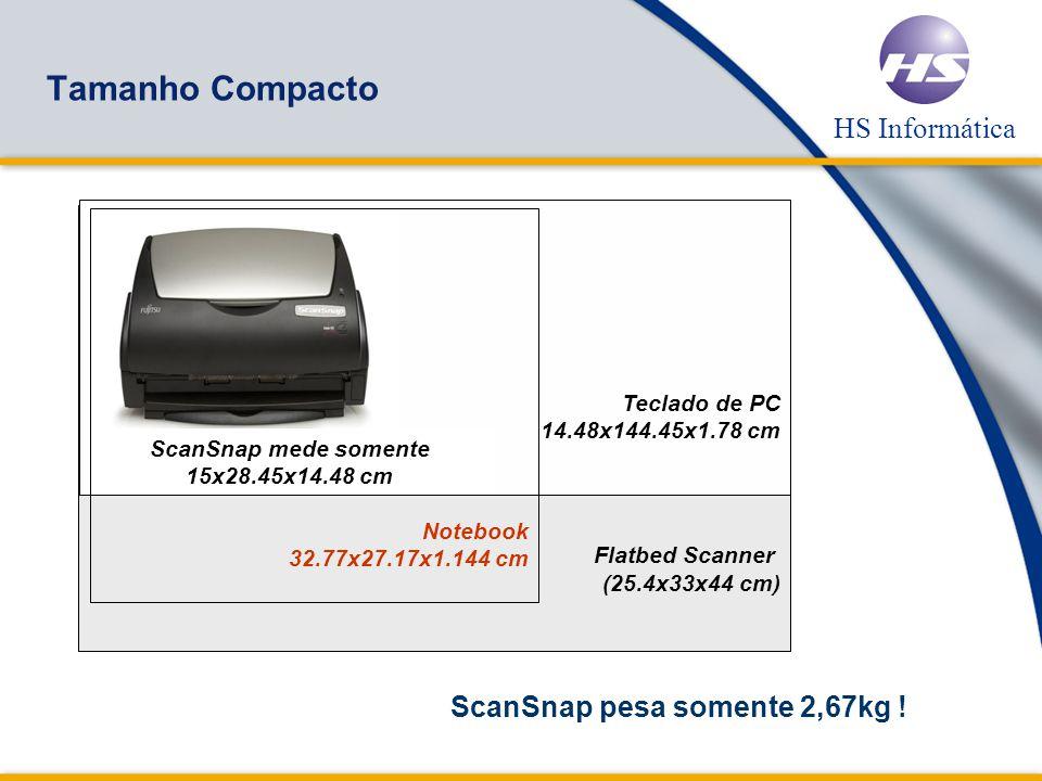 HS Informática ScanSnap – O scanner definitivo.