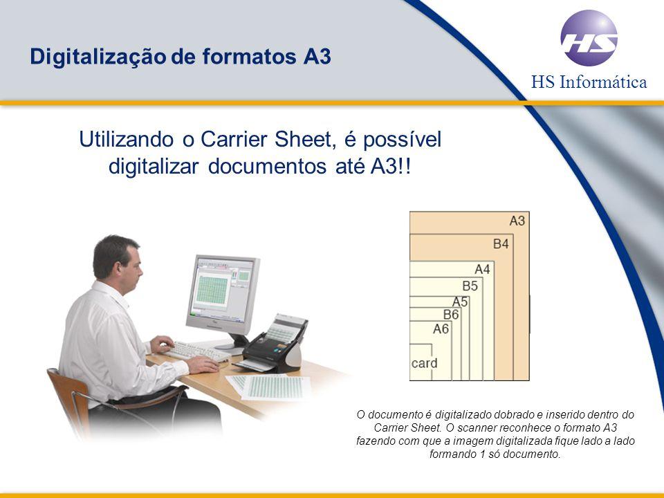 HS Informática Um único Botão Scan to Email Rápido, eficiente e baixo custo no compartilhamento de informações