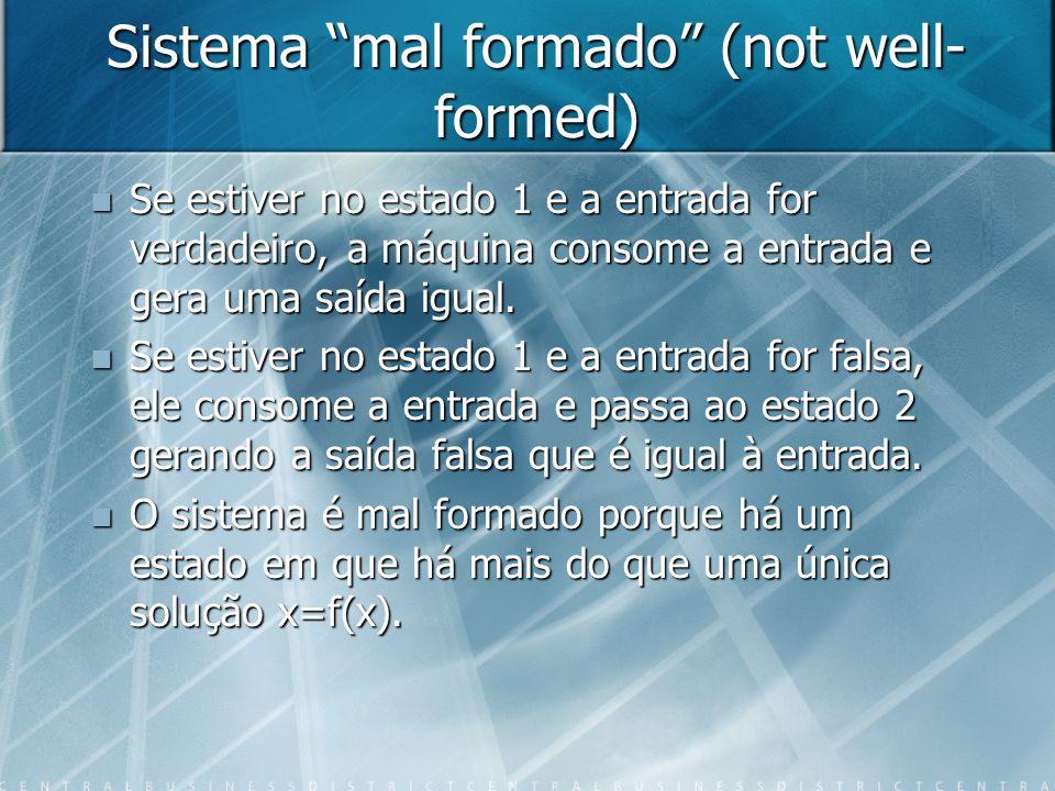Realimentação sem entradas externas: exemplo 3