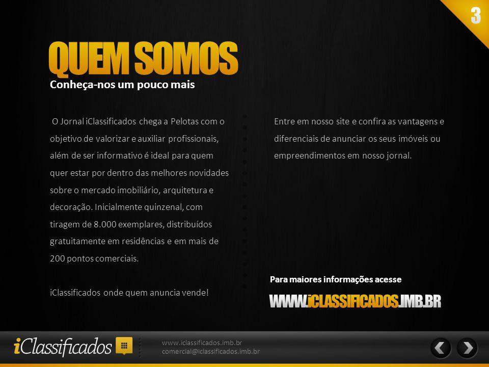 Diferenciar-se é muito importante www.iclassificados.imb.br comercial@iclassificados.imb.br