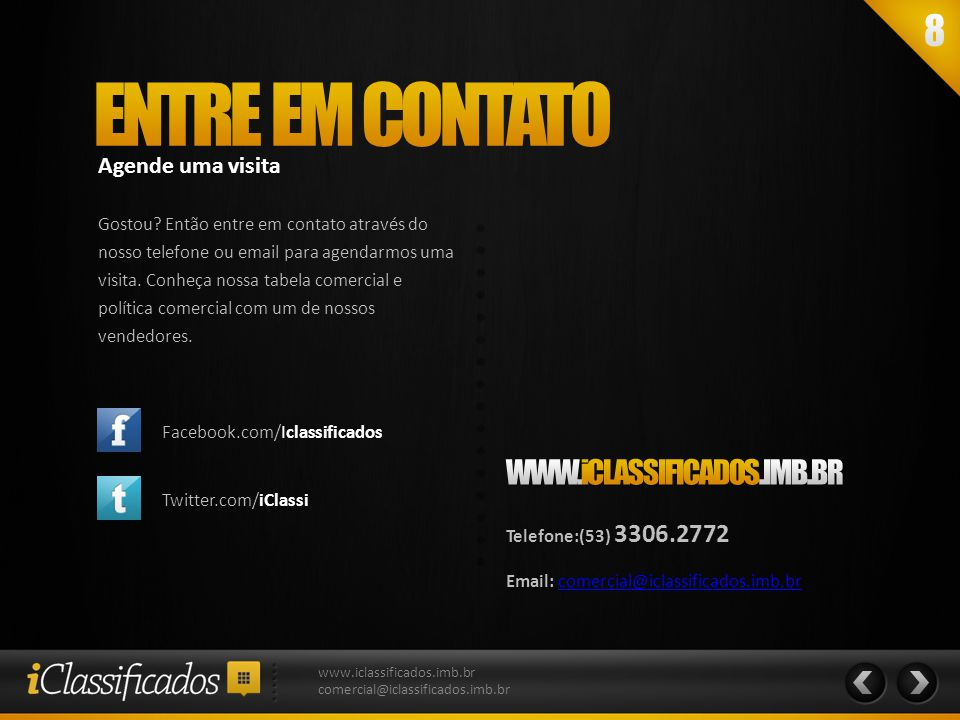 www.iclassificados.imb.br comercial@iclassificados.imb.br
