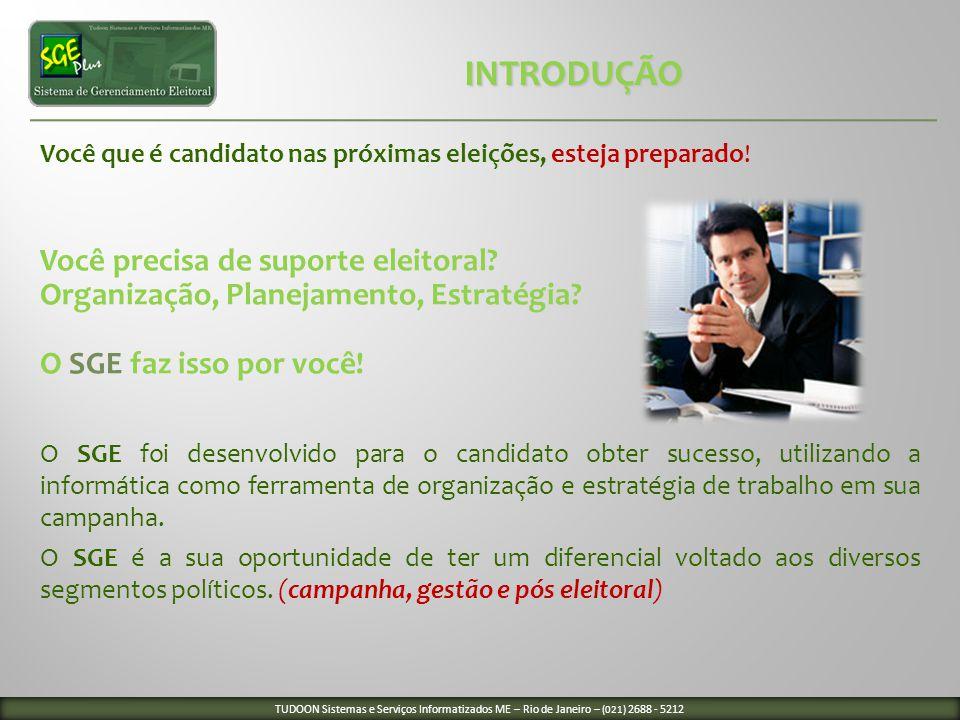 Você que é candidato nas próximas eleições, esteja preparado! Você precisa de suporte eleitoral? Organização, Planejamento, Estratégia? O SGE faz isso