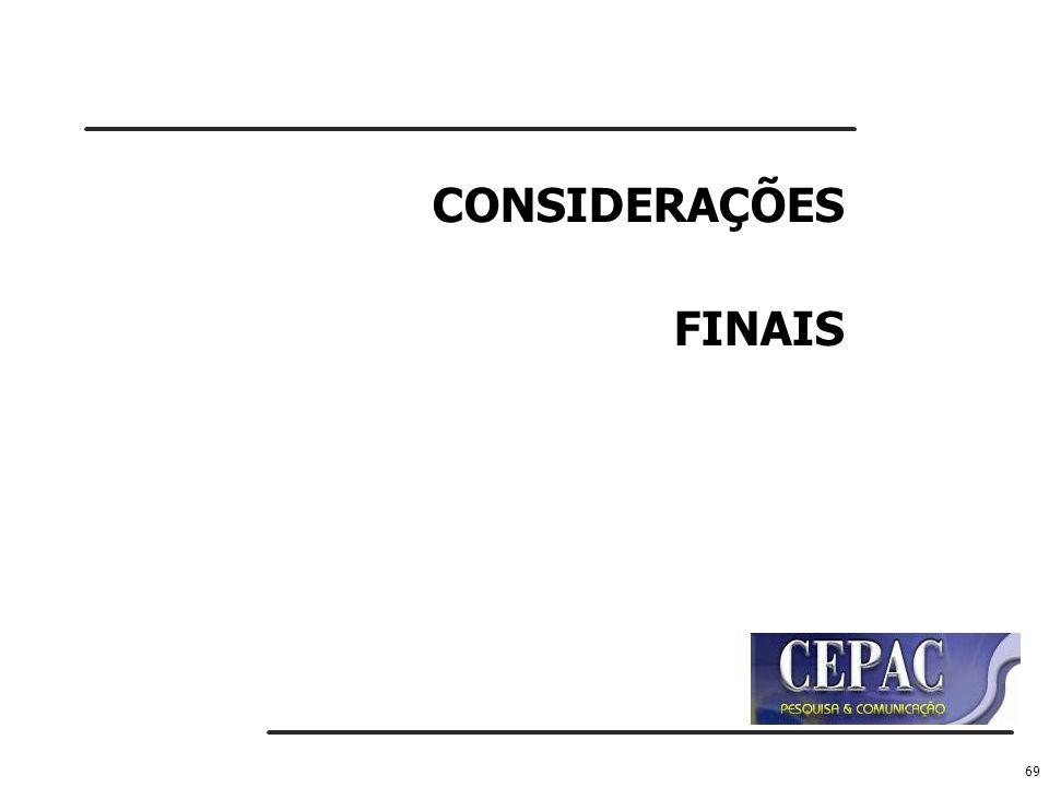 69 CONSIDERAÇÕES FINAIS