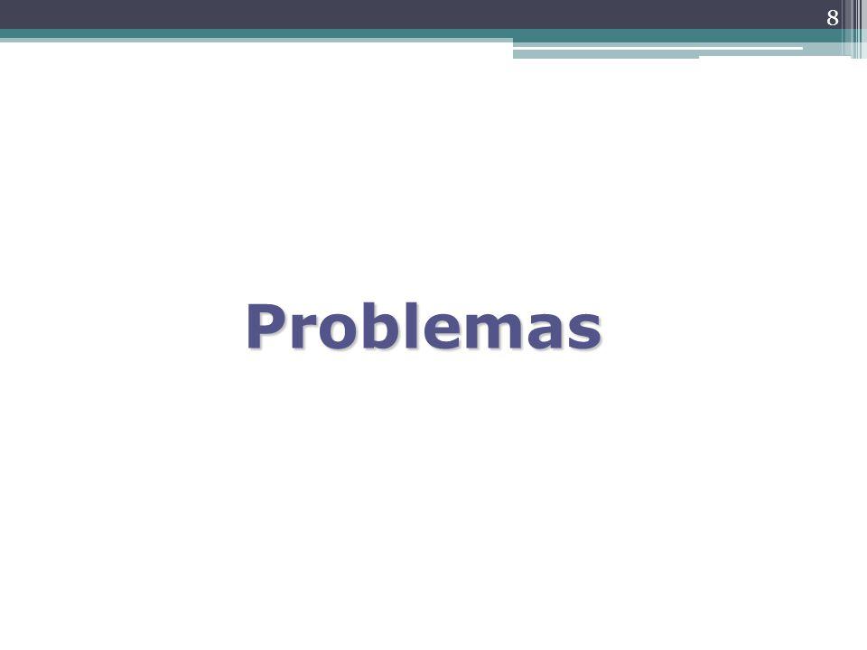 8 Problemas