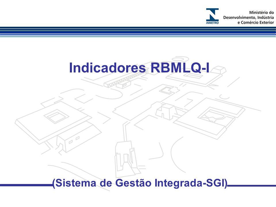 Indicadores RBMLQ-I (Sistema de Gestão Integrada-SGI)