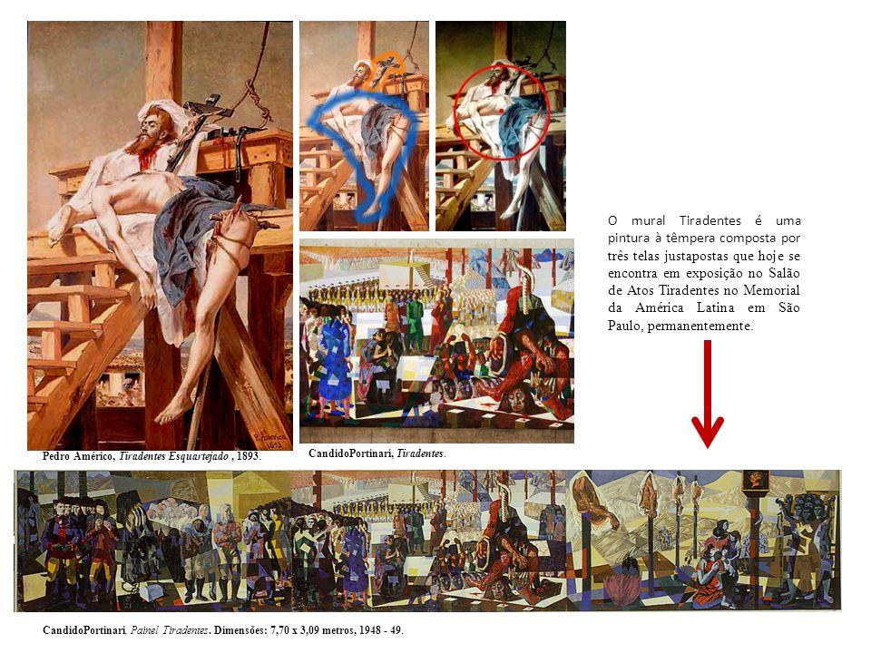 O mural Tiradentes é uma pintura à têmpera composta por três telas justapostas que hoje se encontra em exposição no Salão de Atos Tiradentes no Memori