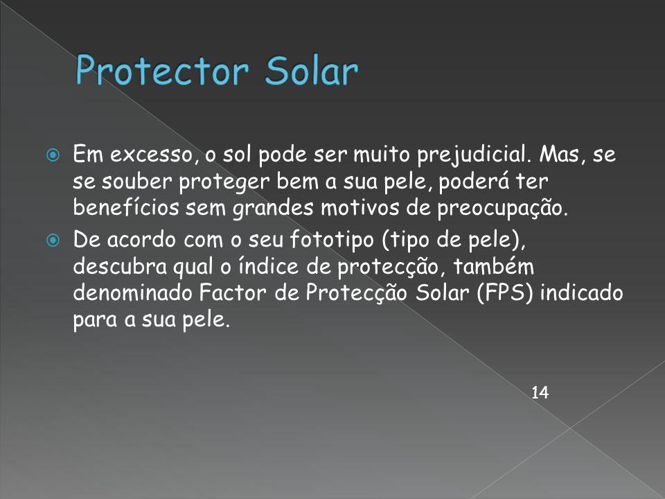 Em excesso, o sol pode ser muito prejudicial. Mas, se se souber proteger bem a sua pele, poderá ter benefícios sem grandes motivos de preocupação. De
