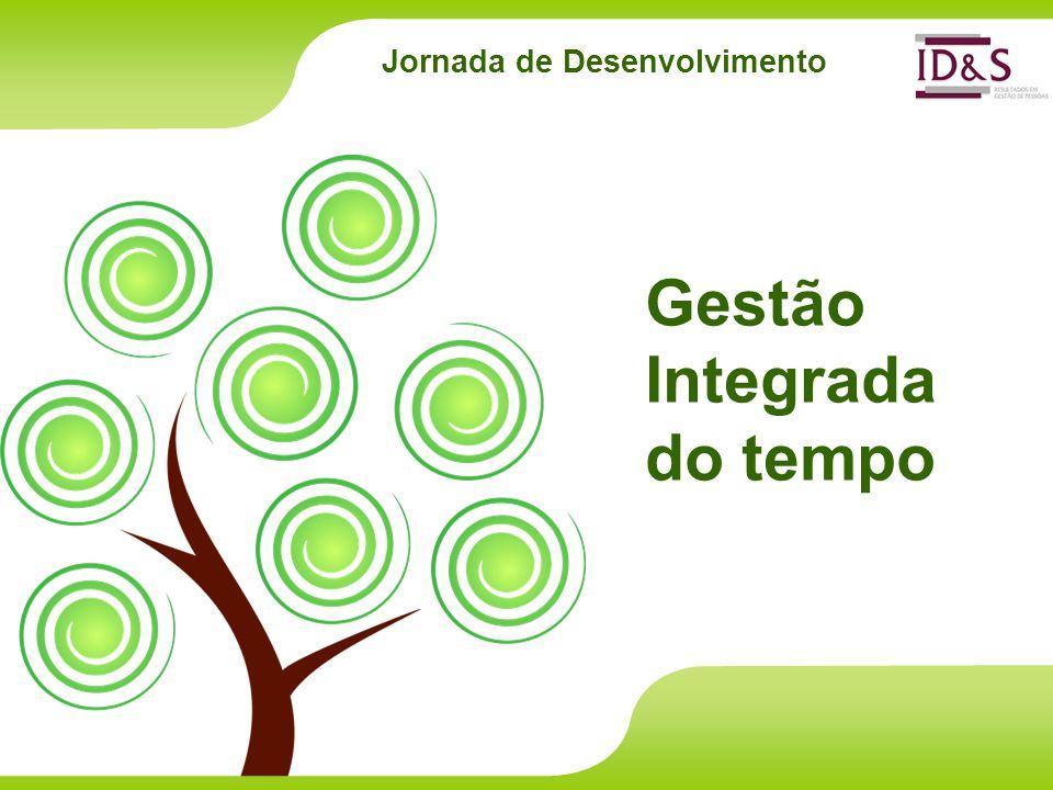 Jornada de Desenvolvimento Gestão Integrada do tempo