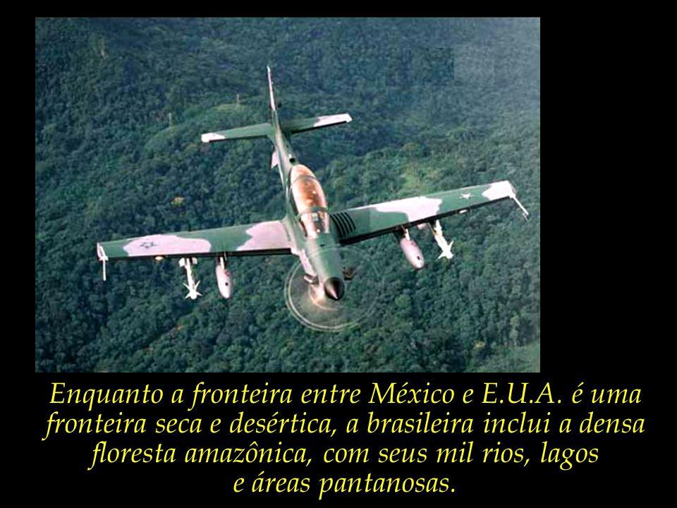A fronteira brasileira com a Bolívia sozinha é mais extensa do que toda a faixa entre México e E.U.A.