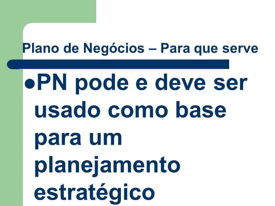 Plano de Negócios – Para que serve PN pode e deve ser usado como base para um planejamento estratégico