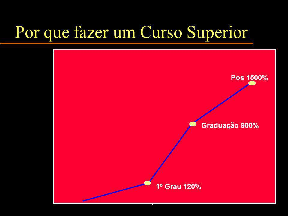 www.nilson.pro.br4 Por que fazer um Curso Superior Graduação 900% Pos 1500% 1º Grau 120%