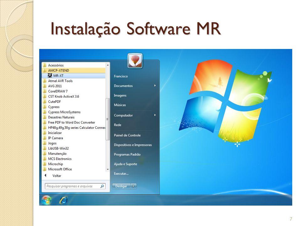 Software Linha MR 8