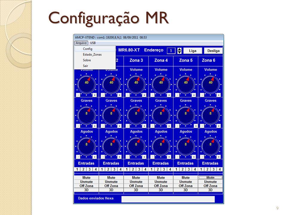 Configuração MR 9