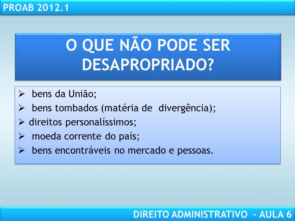 RESPONSABILIDADE CIVIL AULA 1 PROAB 2012.1 DIREITO ADMINISTRATIVO – AULA 6 RETROCESSÃO Código Civil/02, art.