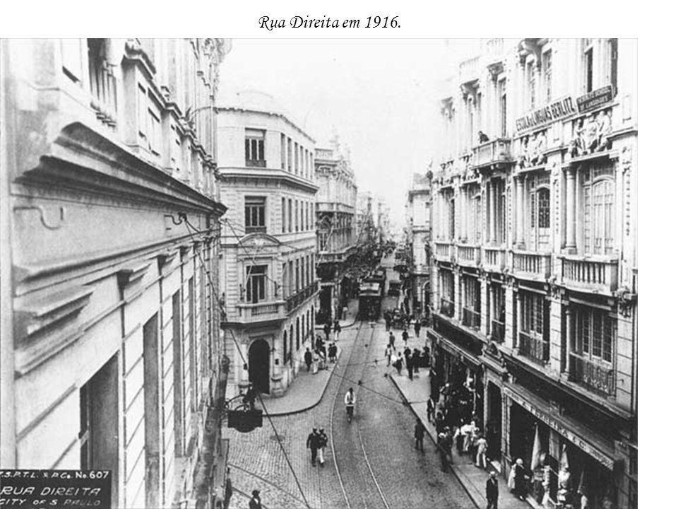 Rua Direita em 1916.